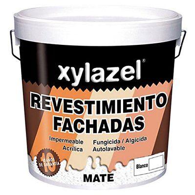Xylazel - Revestimiento fachadas mate 15l Gris Oscuro 207