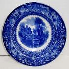 Antique Flow Blue Bowl