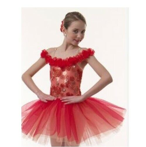 Adult 2XL FLOWER WALTZ Ballet Tutu Dance Dress Costume ~ONLY ONE AVAILABLE!
