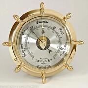 Ships Wheel Barometer