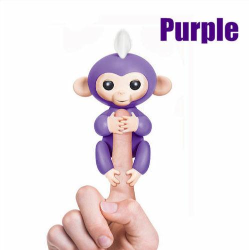 Electronic Interactive Fingerling Happy Monkey Motion Pet Ho