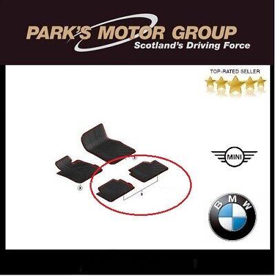 BMW Genuine Black All Weather Rubber Rear Car Floor Mats F34 GT 51472311212