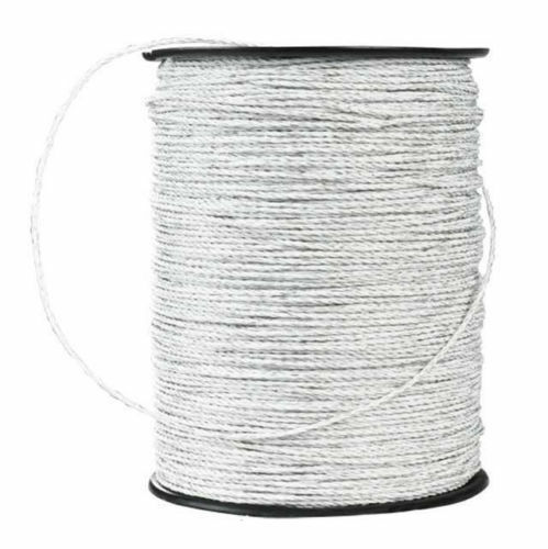 1300' Trident White Electric Fence Polywire