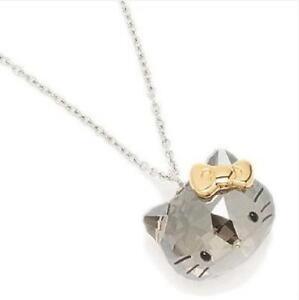 Hello kitty swarovski ebay hello kitty swarovski necklace mozeypictures Image collections