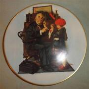 Norman Rockwell Mothers Day Plates