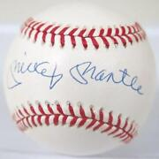 Mickey Mantle Auto