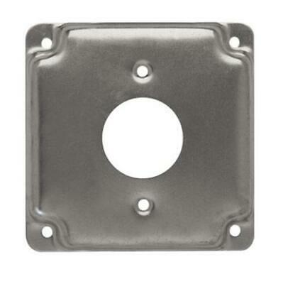 Raco 801C Square Steel Electrical Box Cover, 4