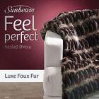 Sunbeam Faux Fur Blankets