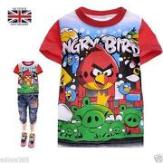 Angry Birds T-shirt Girls