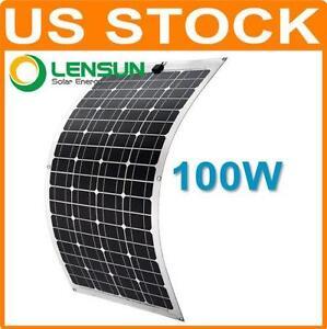 Flexible Solar Panel Ebay