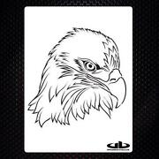 Airbrush Stencils Eagle