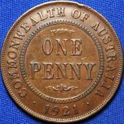 1921 Australian Penny