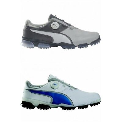 Puma Titan tour Ignite Disc Mens Golf Shoes 2 Year Waterproof Leather