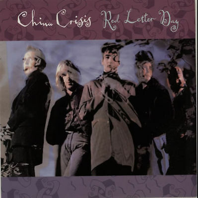 """CHINA CRISIS - RED LETTER DAY    7"""" VINYL PS VS 1188 EX"""