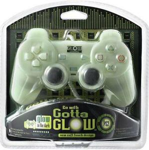 Brand New Gotta Glow PS2 Luminescent Controller