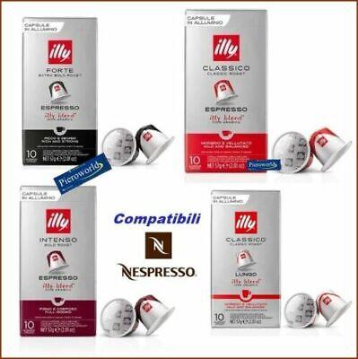 120 Cápsulas Café Espresso Illy Compatibles Máquinas Nespresso Cápsulas #20 100