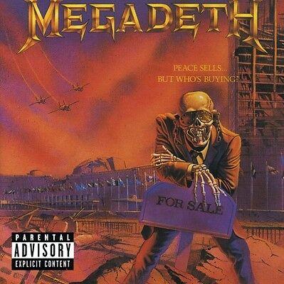 Megadeth   Peace Sells But Whos Buying  New Cd  Explicit  Bonus Tracks  Rmst