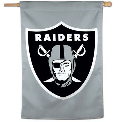 Oakland Raiders 28 X40  House Flag Banner Weather Resistant Las Vegas