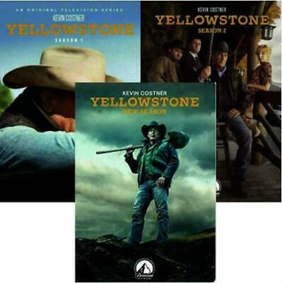 Yellowstone Complete Season 1 & 2 & 3 1-3 DVD Brand New Free Shipping