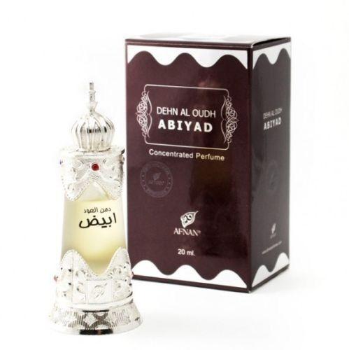 Dehn al Oudh Abiyad by Afnan Herbal Musk Agarwood Oud Concentrated Perfume Oil