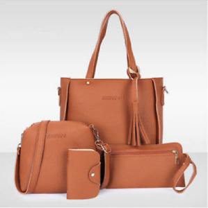 Women Outing Shoulder Bag  Tote Handbag 4PCS/Set  ECT