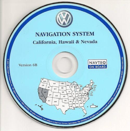 navteq vw gps navigation ebay. Black Bedroom Furniture Sets. Home Design Ideas