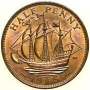 1945 Half Penny