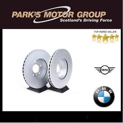 Fits BMW 3 Series E46 Genuine Comline 5 Stud Rear Vented Brake Disc /& Pad Kit