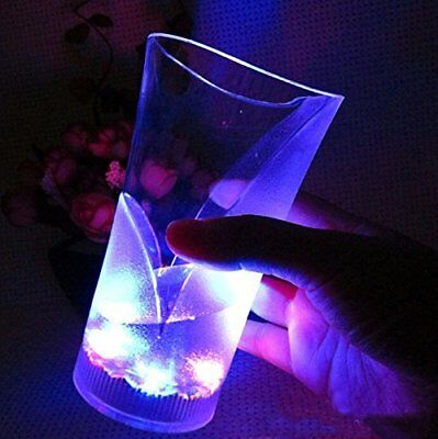 Led Light Cups (13oz LED Flash Light Up Color Cup Luminous Bar Night Alcohol Party Drink)