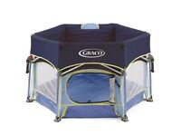 Graco Pack 'N Play Portable Outdoor Playpen with Sun Canopy