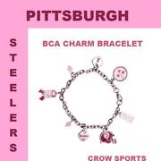 Steelers Charm Bracelet