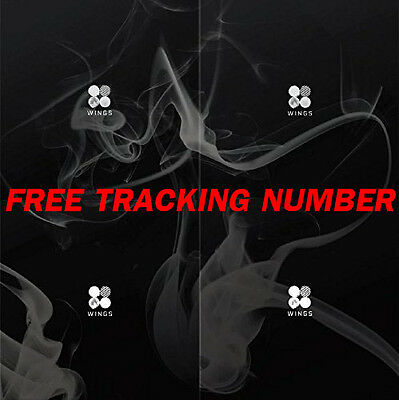 [ Free Tracking Number ] BTS - WINGS Album + Free Gift Photocard Set