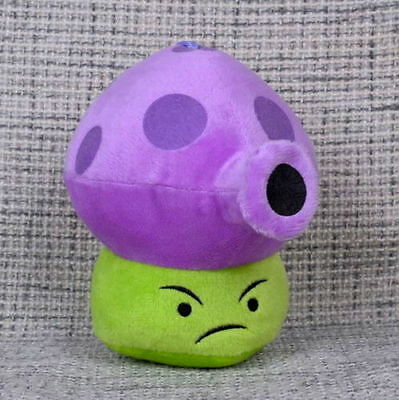 Plants vs Zombies Fume-shroom Plush Toy - NEW - FREE FAST USA SHIPPING
