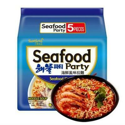 Samyang Seafood Party 125g x 5 Pack
