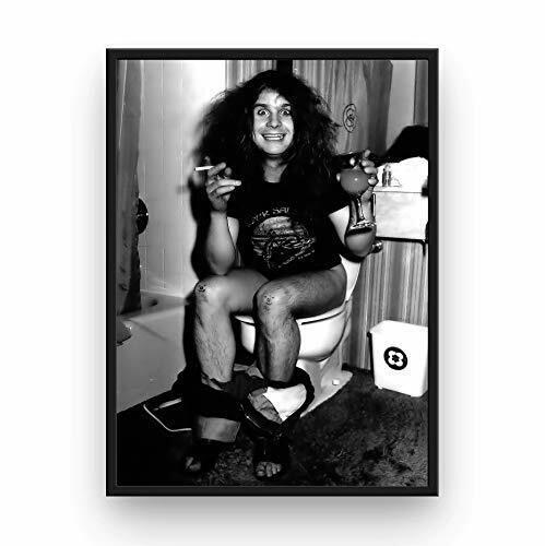 "Ozzy Osbourne Poster 13x19"" Black Sabbath Toilet - Unframed"
