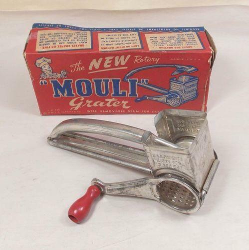 Vintage Crank Cheese Grater : Vintage mouli cheese grater ebay