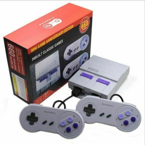 NEW SNES Classic 660 Games Retro Super console Classic Gaming AV TV SUP Nintendo