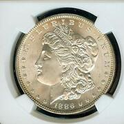 1886 Morgan Silver Dollar MS 65