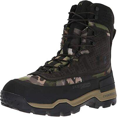 SZ 10.5 Under Armour Camo UA Brow Tine 400g Forest Camo Hunting Boots cupron New