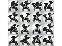 Baby jogger city select excellent condition