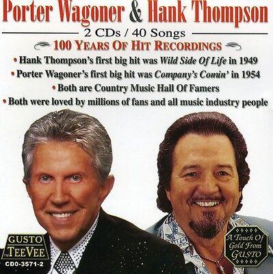 Recordings Cd Album - Porter Wagoner - 100 Years of Hit Recordings [New CD]