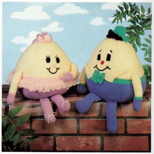 Humpty Dumpty Knitting Pattern | eBay