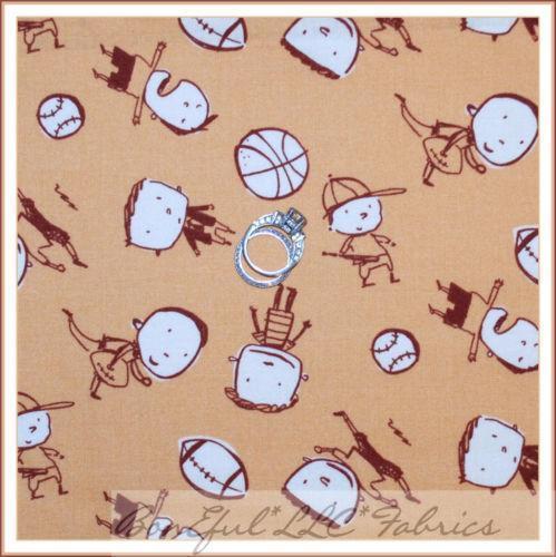 Vintage Baseball Fabric Ebay