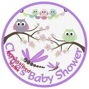 Baby Shower Edible Cake Topper