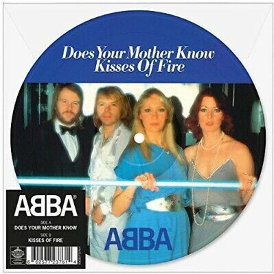 """ABBA - Does Your Mother Know (Picture Disc) [New 7"""" Vinyl] Picture Disc, UK - Im"""