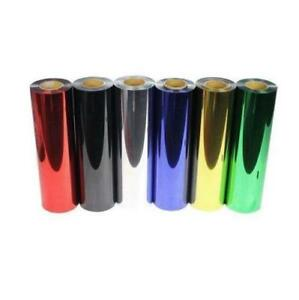 6yards Heat Transfer Vinyl Film PET Metal light Mirror Finish for Textile Press