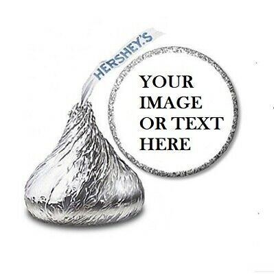 108 Custom Personalized Labels Stickers Hershey's Kisses Candies Party Favors