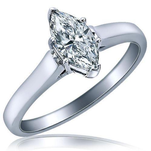 Marquise Cut Diamond Ring Ebay