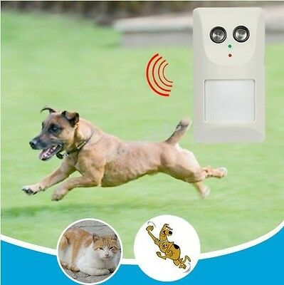 Electric Infrared Ultrasonic Banish Dog Cat Repellent For Kitchen Garden Hotel
