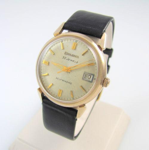 Vintage Bulova Automatic Mens Watch | eBay